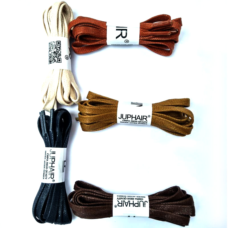 N 1 12 Pair Red Brown Flat Waxed Dress Canvas Shoelaces Sneakers Boots Shoelace Unisex String Colors Shoes Laces High Quality in Shoelaces from Shoes