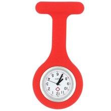Модные силиконовые часы для медсестры карманные красочные профессиональные Полезные медицинские часы для врачей 100 шт./лот
