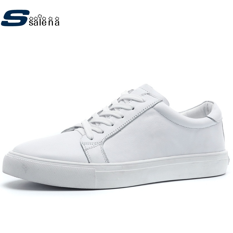 Shoes Men Skateboarding Leather Summer Breathable White Sneakers Outdoor Trainers Size Eu 39-46 AA20036 h107d a03 x4 rx board for hubsan x4 h107d toy rc helicopter f08674