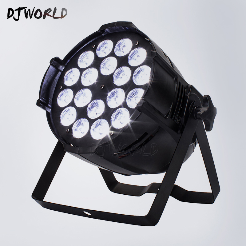 Aluminum Alloy LED Par 18x18W RGBWA+UV Lighting LED Par Can Par LED Spotlight Dj Disco Projector Wash Lighting Stage LightingAluminum Alloy LED Par 18x18W RGBWA+UV Lighting LED Par Can Par LED Spotlight Dj Disco Projector Wash Lighting Stage Lighting