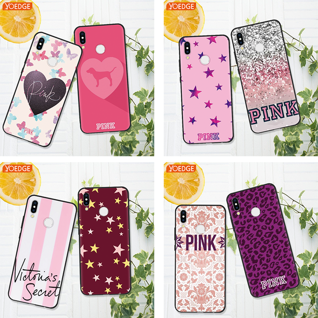 US $1 11 |Love Pink victoria secret Fashion Case For Honor 7A Pro 8X 6A 9  Lite 10 For Huawei Mate 10 20 Lite Pro P8 P9 P10 P20 Y6 Coque-in Fitted