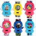 Japenese аниме Yokai Часы Мультфильма Электронные Часы DX йо-кай часы Передатчик Игрушки Можете Смотреть для детей Рождественские подарки P739