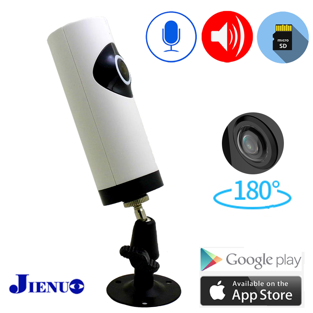 Panoramic Ip Camera Wifi Wide Angle180 Degree Two Way Voice CCTV Security Surveillance Wireless Audio Infrared Home Camera IPcam