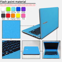 Customization Pure Color ABC Sides Laptop Sticker Dustproof Skins Protective Decal Stickers For B480 B460 Z360