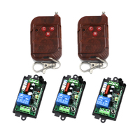 220V 1CH Channel 10A Free Shipping Wireless Remote Switch Learning Code 315Mhz 433Mhz Optional 4268