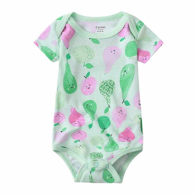 Летний детский комбинезон, боди, костюмы для мальчиков и девочек, одежда с короткими рукавами, комплект одежды для новорожденных, модный костюм унисекс для новорожденных, 2019 хлопок
