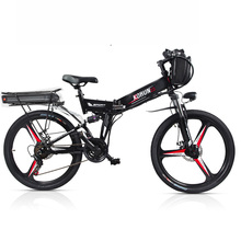 Custom 26inch Electric bicycle 48V Three lithium battery electric mountain bike smart assist hybrid ebike rang