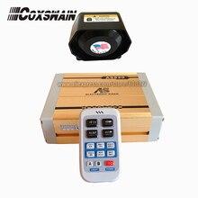 AS820 200W wireless car siren 18 sounds with MP3 playback, wireless microphone controller (Siren + 1pc 200W speaker)