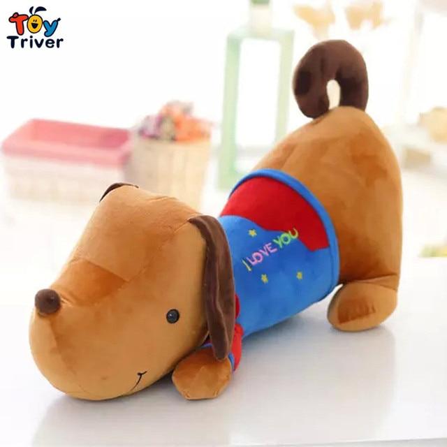 Quality Plush Dachshund Dog Stuffed Toys Doll Pillow Cushion Gift
