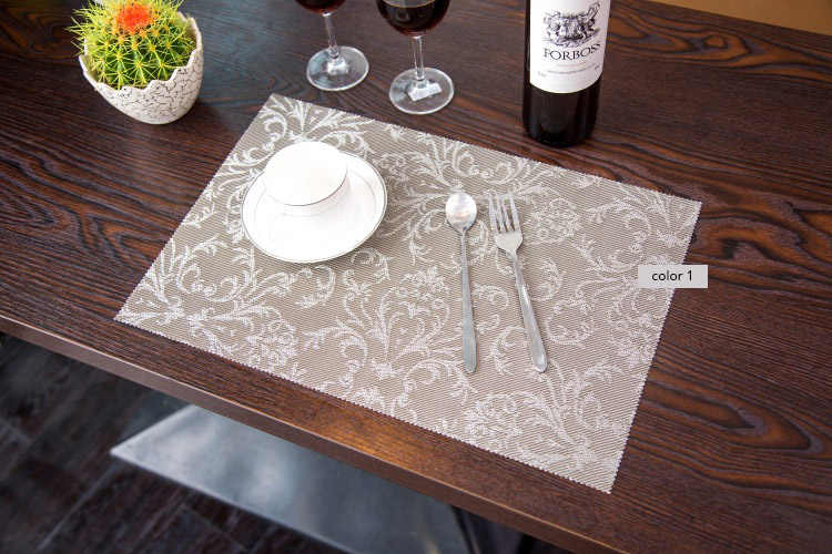 Placemat Pvc Dining Table Placemats