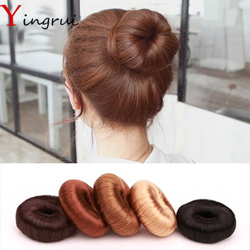 DIY Pure Hairpiece Hair Bun Coil Updo Maker Former Twist Tool Hair Donut Make Your Hair More Stylish Grilfriend Gifts hot women hairpiece donut hair styling hair braider accessory braiding tools updo maker hair accesories free shipping