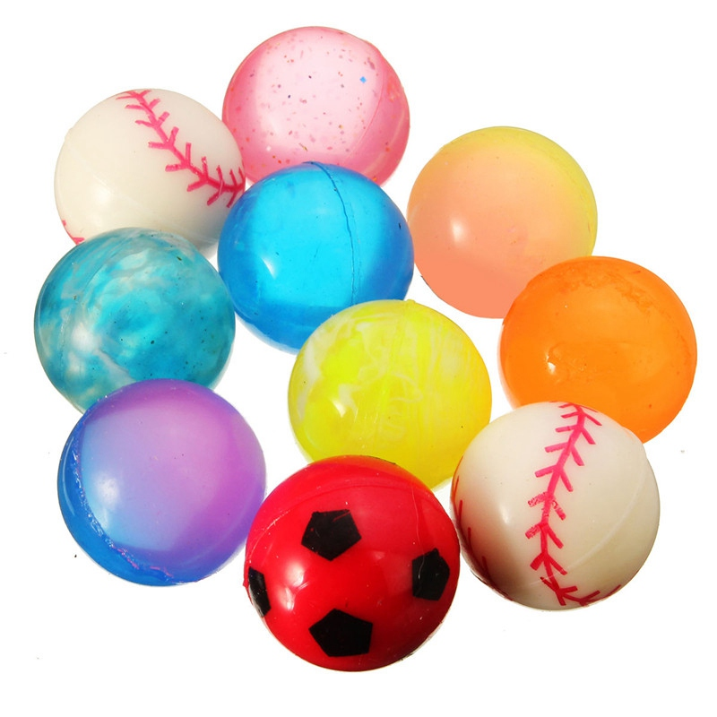 Toys For Balls : New arrival high quality pcs colorful mm bouncy jet