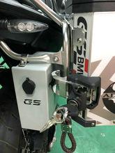 Декоративные алюминиевые коробке для BMW F700GS F800GS 2013-на панели инструментов подходит для BMW сбоку кронштейн