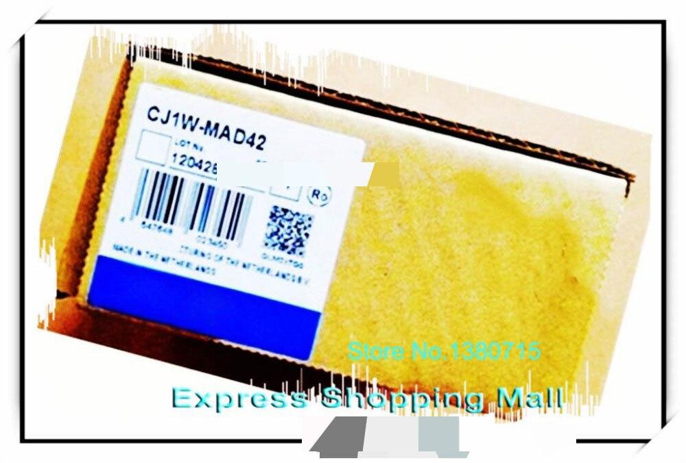 New Original CJ1W-MAD42 PLC 24VDC I/O 4 input 2 output new original cj1w tc002 plc 4 loops pnp output