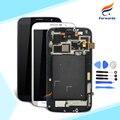 Para samsung galaxy mega 6.3 i9200 i9205 pantalla lcd con Touch Digitalizador Asamblea Frame + Herramientas 1 unidades envío gratis