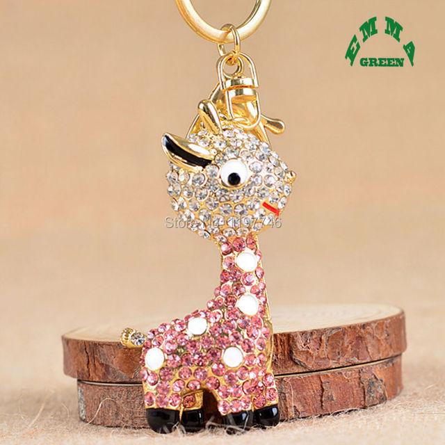 Various Trendy 3D Christmas Keychain 2pcs Rhinestone Alpaca Pendant Key  Holders Hanging Decoration Keyrings Girls Women 2cfd430fc