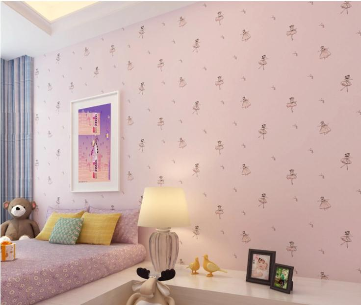 Brand Kids Boy Wallpaper Princess Cartoon Wall Paper Child Room Bedroom Wallcovering Nursery School In Wallpapers From Home