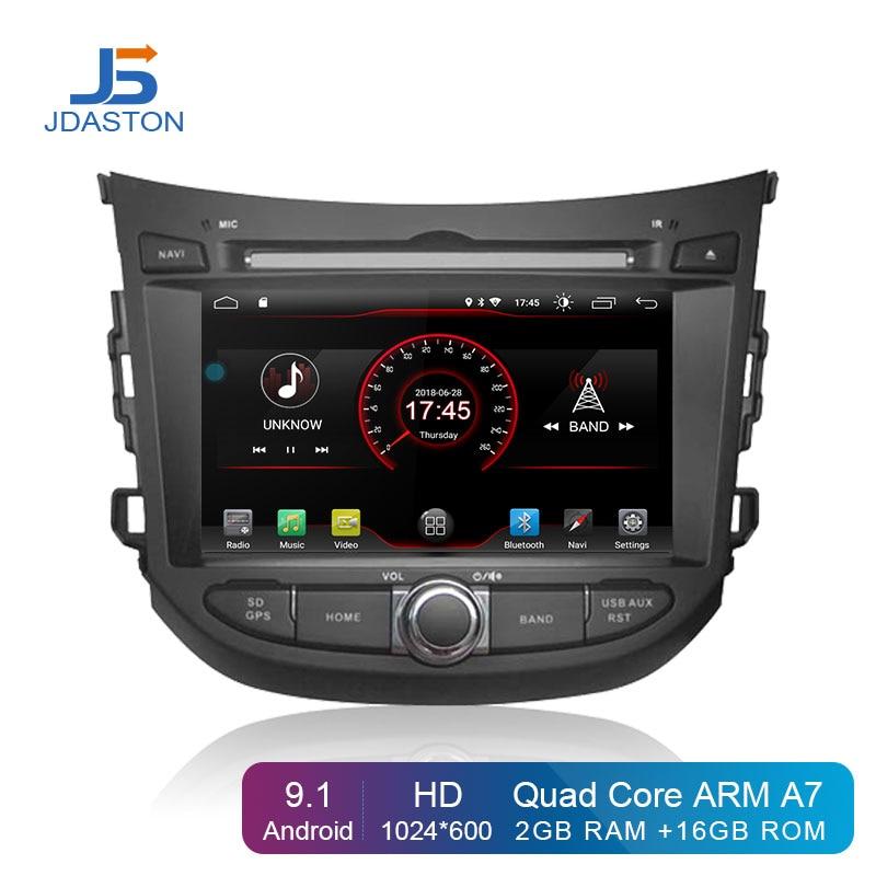 Lecteur DVD de voiture JDASTON 7 pouces Android 9.1 pour HYUNDAI HB20 multimédia GPS Navigation 2 Din autoradio Audio stéréo Headunit Canbus