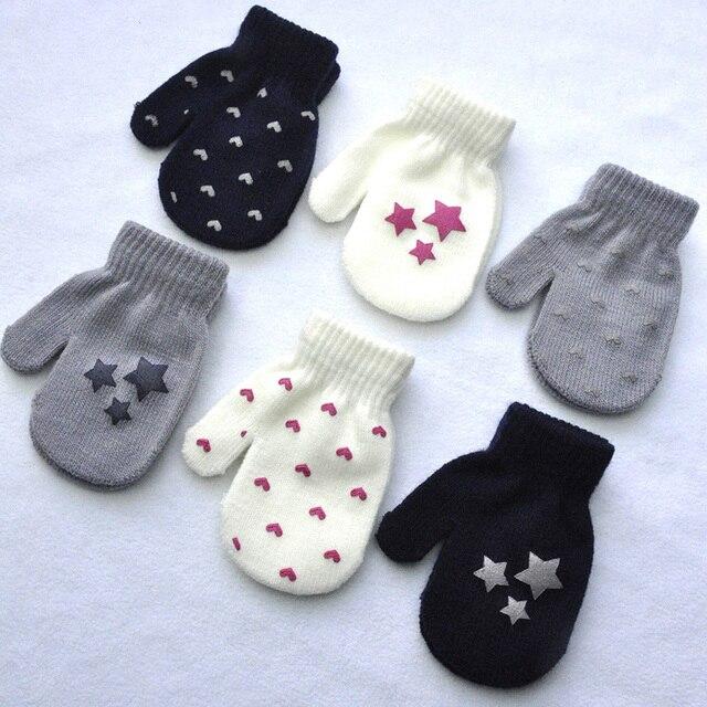 De Punto guantes manopla bebé, guantes invierno, guantes invierno ...