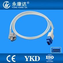 GE ADULT Trusignal TS-F-D spo2 sensor, Pediatric Soft Tip spo2 sensor