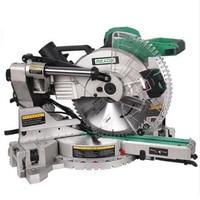 12 Inch Dual Sliding Compound Miter Saw & 305mm Miter Saw 1800W 220 240v/50hz 12 Circular Saw Cutting Mluminum Machine SM3057R