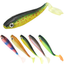 ZHENDUO Soft Simulation Lures 100mm/5g Silicone Bait Colorful Carp Artificial 1Pcs Fishing Tackle