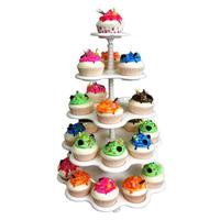 Five layer Cake Stand Cupcake Stand Cake Display Rack Dessert Set A Variety Of Dessert Rack