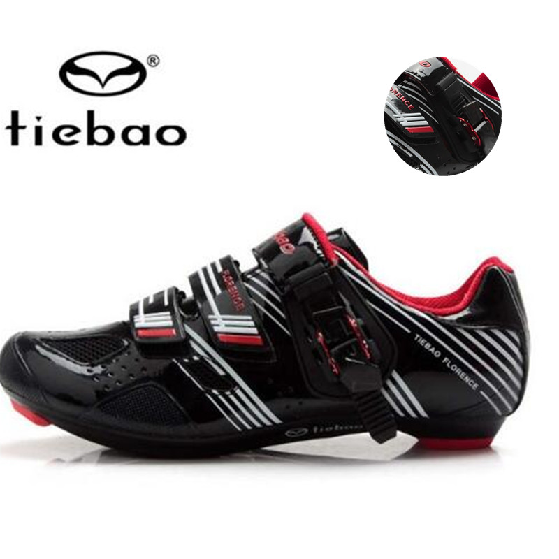 ФОТО Tiebao cycling shoes china 2017 road bike athletic carbon bicycle zapatillas deportivas mujer sapato feminino men sneakers women