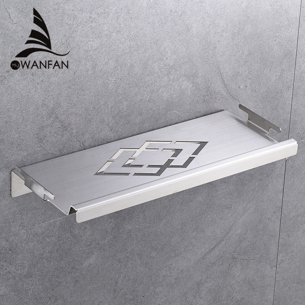 Bathroom Shelves Stainless Steel Wall Mount Shower Corner Shelf Shampoo Storage Basket Modern Home Accessories Holder WF-18067 bathroom shelves stainless steel wall mount shower corner shelf shampoo storage basket modern home accessories holder wf 18067