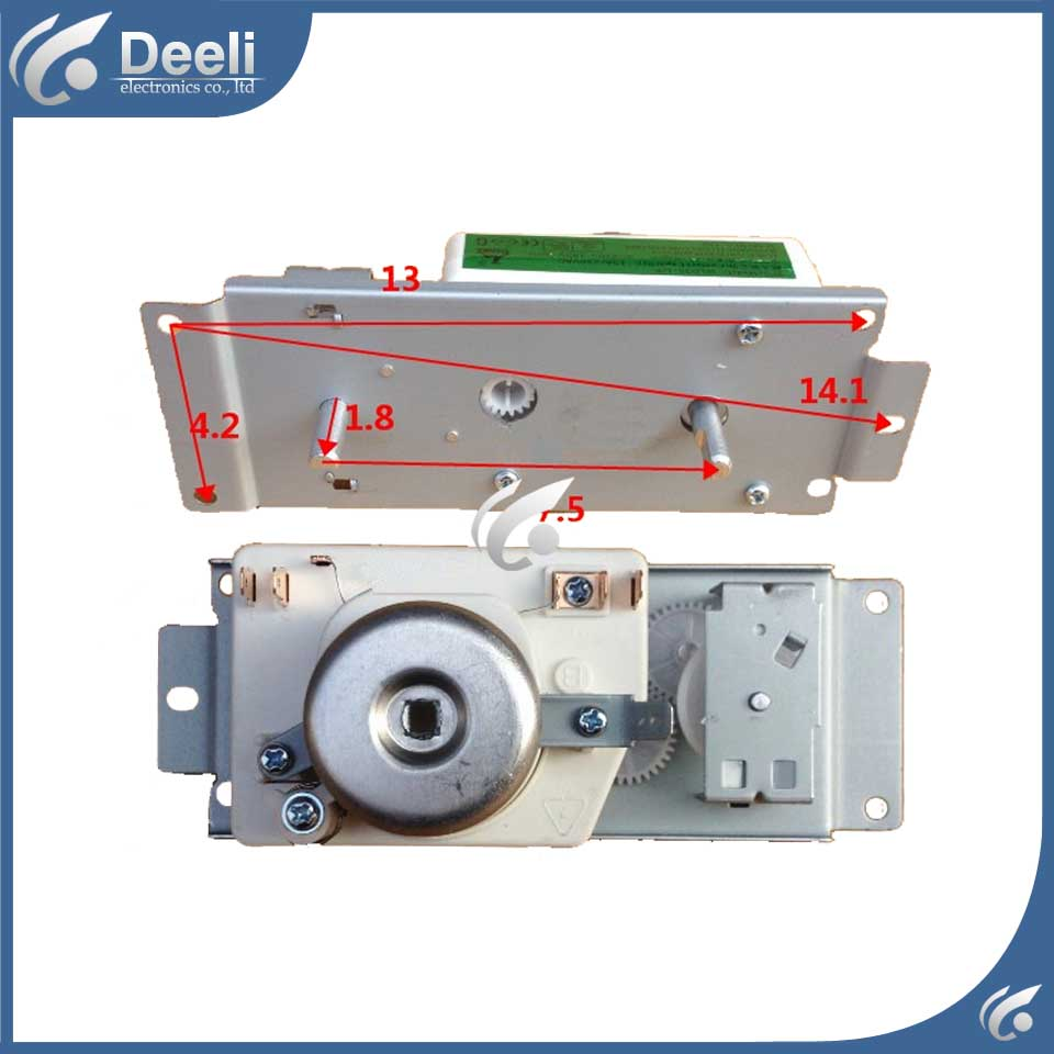 1pcs microwave oven accessories insert switch timer microwave oven timer DWD35SL/VFD35M106IIE WLD35-1/P good working