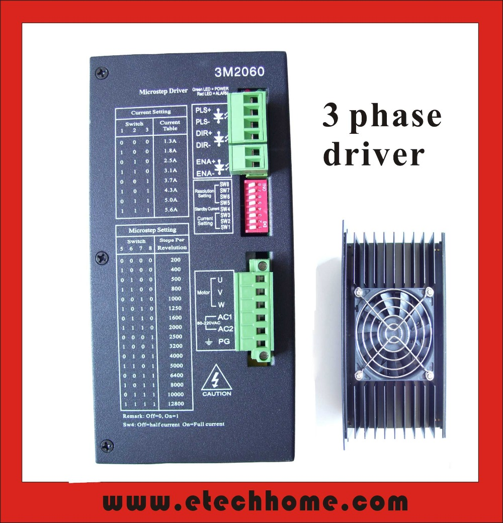 Online buy wholesale 3 phase stepper motor driver from for Three phase stepper motor driver
