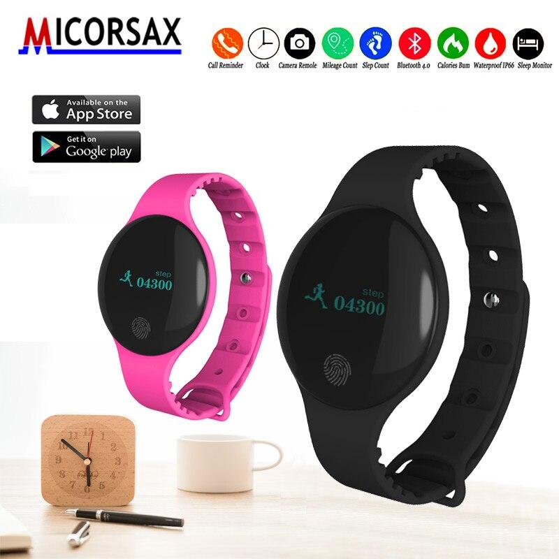 2d497734523c W08 los dispositivos de vestir los niños reloj de rastreador de actividad  podómetro impermeable vida banda Fitness calorías pulsera en Pulseras  inteligentes ...