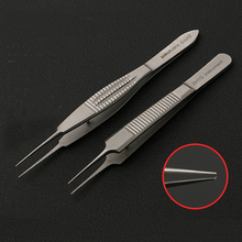 Tiangong plastic eyelid tweezers double eyelid surgery tool tooth / toothless fat tweezers plastic stainless steel equipment