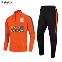 New Autumn Winter Running Tracksuit sportswear men set quick dry Men Soccer Jerseys Kit Football Training Suit Jogging Suits
