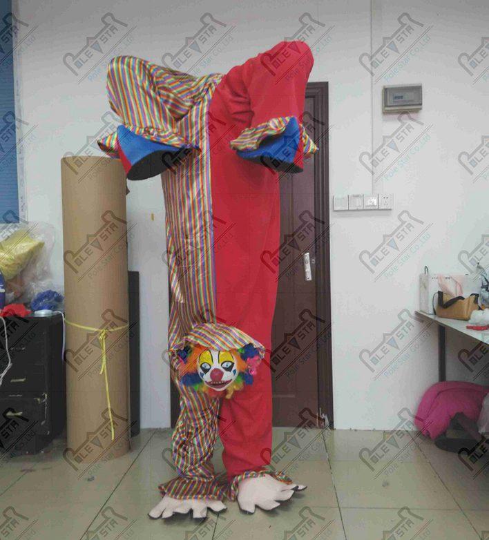 Stand de main clown mascotte costumes cirque drôle dessin animé mascotte costumes