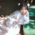 2016 de invierno trajes de danza folclórica tradicional hanfu vestuario dinastía han hombre ropa ropa mujeres tang traje chino antiguo de la barbilla