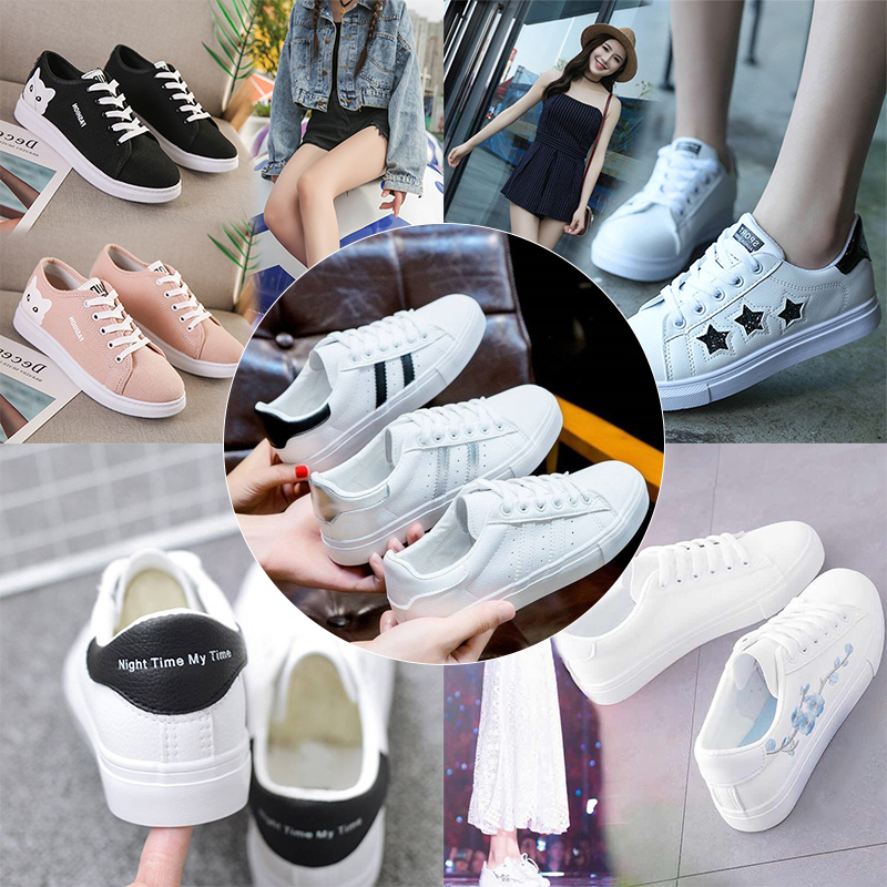 Spring Summer Shoes Woman Breathable New Sneakers Casual Shoes Tenis Feminino Walking Woman White Platform Female Sneakers