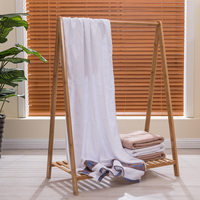 100% Bamboo Bath Towel Beach Embroidery Jacquard Towels For Adults Fast Drying Soft Swimming Towel Bathroom Thick High Absorbent