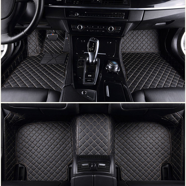 Custom Car Floor Mat For Bmw F10 F11 F15 F16 F20 F25 F30
