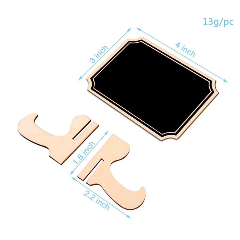 5pcs/Lot  Inner Corner Wooden mini blackboard For Wedding Party Decorations chalkboards Message board supplies Lahore