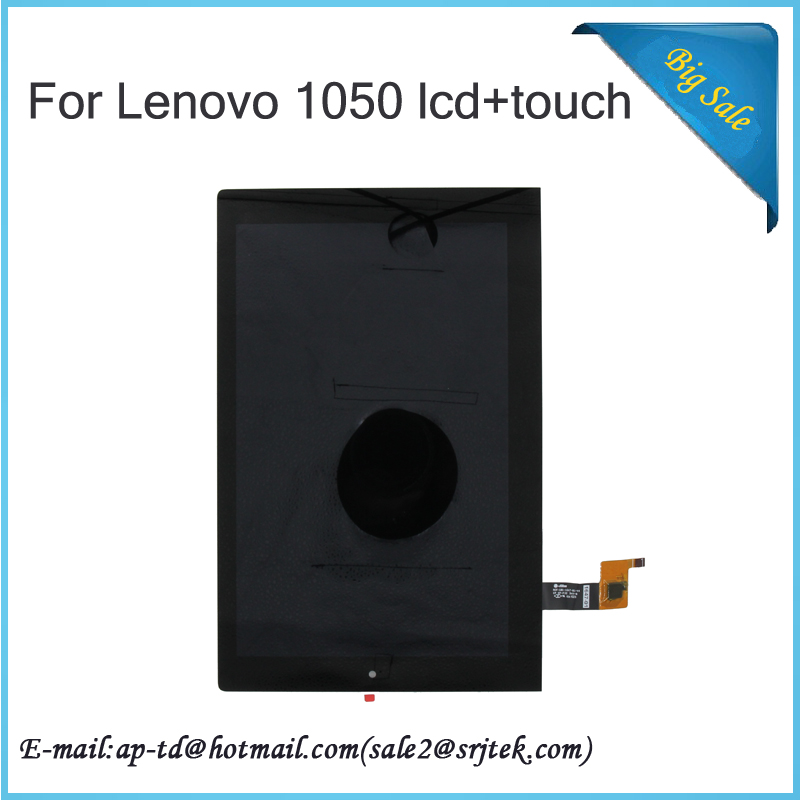 10.1 For Lenovo Yoga Tablet 2 1050 1050F 1050L Touch Screen Digitizer Glass B101uan01.E LCD Display Mcf-101-1647-01-v4 Assembly for lenovo yoga tablet 2 1050 1050f 1050l new full lcd display monitor digitizer touch screen glass panel assembly replacement