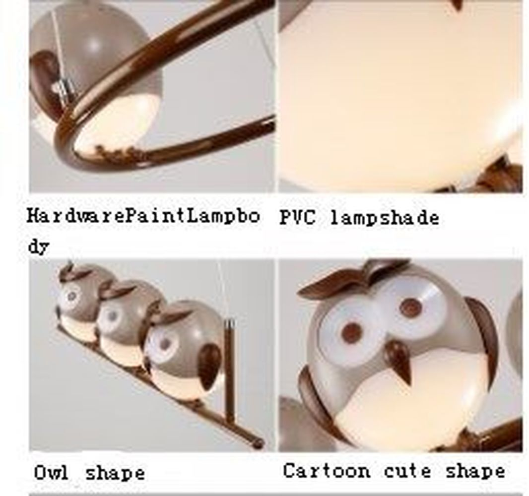 Hghomeart cartoon kids room chandelier led luminaria room iron hghomeart cartoon kids room chandelier led luminaria room iron chandelier lighting creative eye bird chandeliers for the bedroom in pendant lights from arubaitofo Image collections