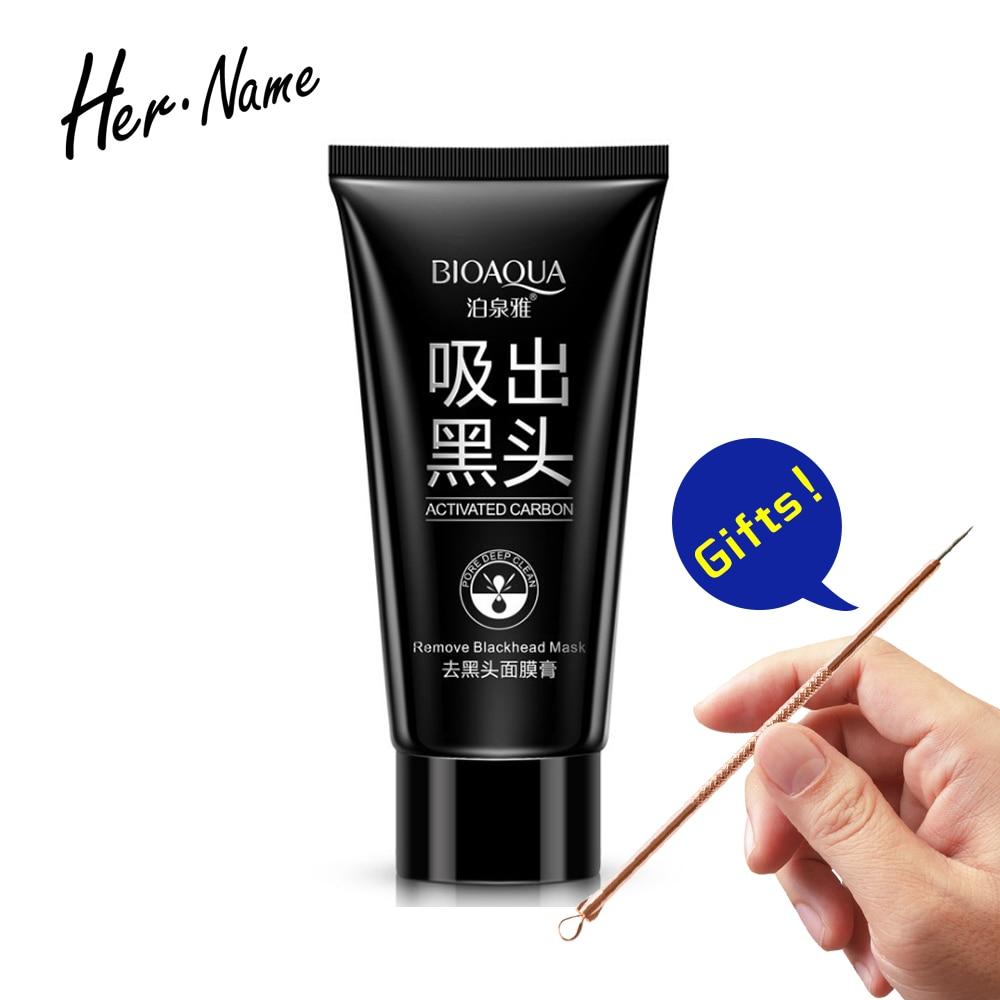 Black Skin Care: Hername BIOAOUA Remove Blackhead Mask Black Mud Deep
