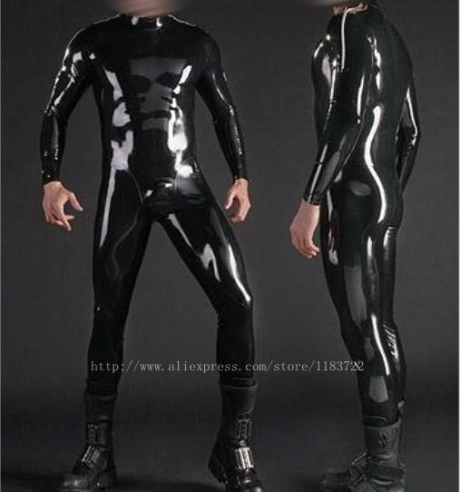 black nature latex men 39 s catsuit rubber bodysuit in teddies bodysuits from novelty special. Black Bedroom Furniture Sets. Home Design Ideas