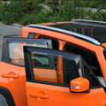 Car Accessories Window Air Deflectors Rain Guards Wind Deflectors for Jeep Renegade 2015-2016