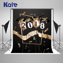 Kate  300cm Graduation Backdrop Photography Back To School Backgrounds Party Student Black And Gold