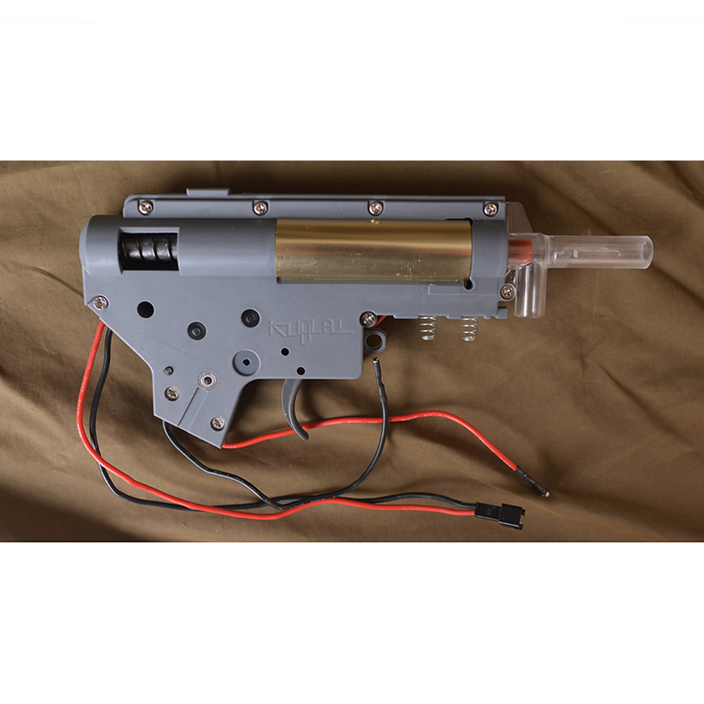 Gel Gearbox Ver.2 Gel Split Gearbox Nylon Receiver For KUBLAI Gel Ball Blaster Paintball