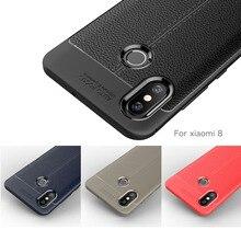 Xiaomi Mi 8 Mi8 Case Mi 8 SE Cases Cover Case for Xiaomi Mi 8 Explorer Carbon Fiber Silicon Soft Coque Etui Fundas Accessory kykeo серый xiaomi mi 8 explorer