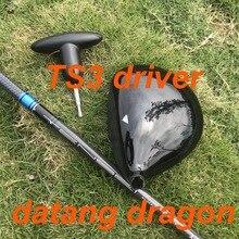 2019 Новый Гольф драйвер datang Дракон TS3 водитель 9,5 или 10,5 градусов с TENSEI 65 графит жесткая Вал Гольф-клубы