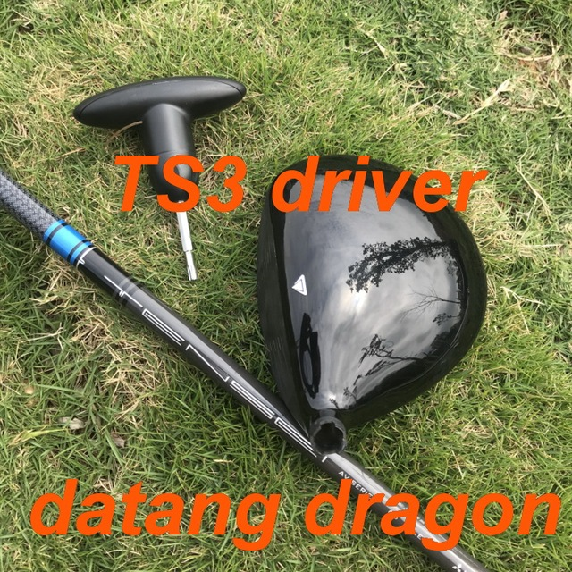 2019 New golf driver datang dragon TS3 driver 9.5 or 10.5 degree with TENSEI 65 Graphite stiff shaft golf clubs